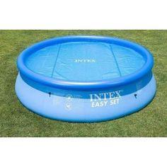 Intex Solarplane für 457 cm Intex Easy-Pool 59954  Kurzübersicht Intex Solar Poolplane - Solarnoppenfolie - 549cm Durchmesser- 59954