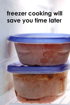 Freezer Cooking Saves Time | Life as MOM