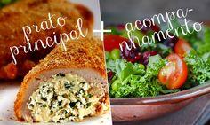 Almoço completo: receitas de pratos principais com acompanhamento