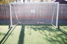 How to Build a Soccer Goal With PVC Pipe via ehow. THIS COULD BE THE PIN I'VE BEEN SEARCHING FOR!!! :D :D :D