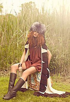 Erin Wasson hippie style