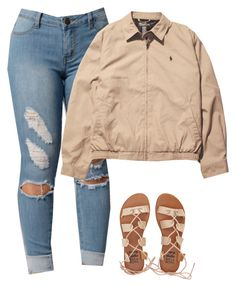 """""""Untitled #165"""" by outfits2dope ❤ liked on Polyvore featuring Billabong and Ralph Lauren"""