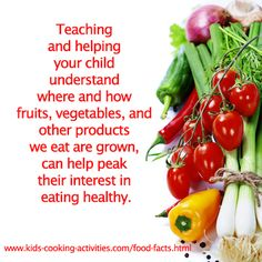 Learn more about food facts