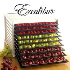 Win an Excalibur Food Dehydrator. 9-Tray with 26 Hour Timer valued at $349