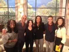 @KyleSchuneman: Had a gr8 time on @TheTalk_CBS 2day w @JulieChen, @AishaTyler, @SherylUnderwood, @SaraGilbert & @SFM420! Tune in 2moro!