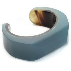 Marni Resin Bracelet ($370) ❤ liked on Polyvore featuring jewelry, bracelets, opal, marni jewelry, polish jewelry, hinged cuff bracelet, marni and resin bangle