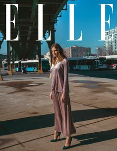ELLE Vietnam June 2017 Kristina Peric by Elio Nogueira - Fashion Editorials