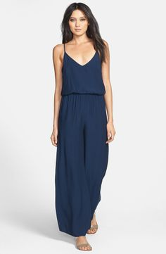 800e48abe85c ASTR Elastic Waist Wide Leg Jumpsuit | Nordstrom Vacation Wear, Vacation  Outfits, Sweater Shop