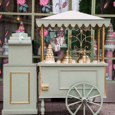 Ladurée ice creams carriage in front of our Champs-Elysées Ladurée store…