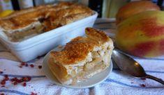 Easy apple pie recipe - this is my super easy apple pie recipe with pink peppercorns #applepie #applepierecipe #easyapplepie #pudding #recipe #bake