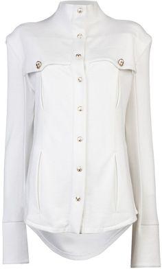 Balmain Silky Shirt - Lyst