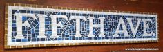 Secondary Color, Primary Colors, Ceramic Mosaic Tile, New York Subway, House Warming, Colorful Backgrounds, Wedding Gifts, Colours, Lettering