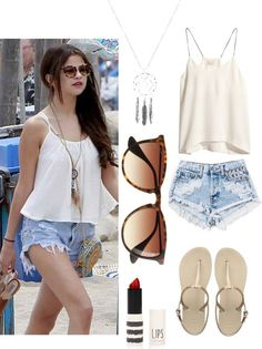 Festival Look this whole Selena Gomez outfit OMG so madly in love with her