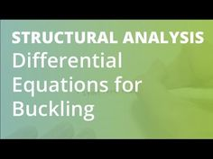 https://goo.gl/utcNCR for more FREE video tutorials covering Structural Analysis.
