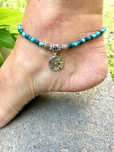 Beach Anklet Ankle Bracelet Anklet Beaded Anklet Beach