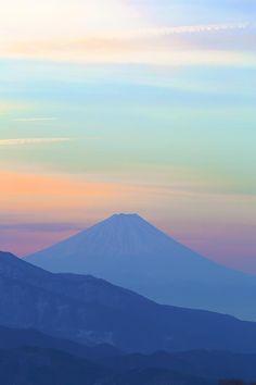 Mt. Fuji, Japan: photo by Osamu Yaehata