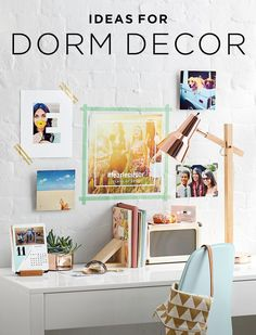 Moving to college and beginning a new life away from home is when you get to make your living space yours. If your bare walls are staring at you, take a look at these 100 dorm room decorating ideas to help inspire and ignite your creative process.
