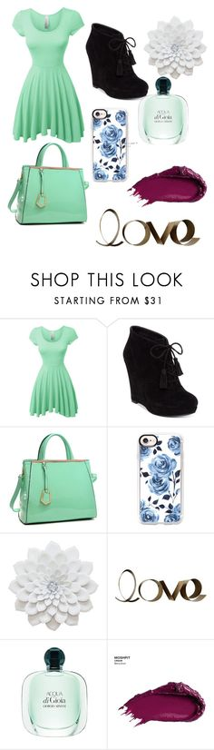 """""""Untitled #114"""" by sydneyoo on Polyvore featuring LE3NO, Jessica Simpson, Dasein, Casetify, PBteen and Urban Decay"""