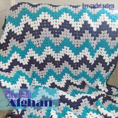 Free Crochet Pattern - Play Ball Afghan