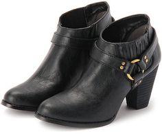 short boots / ShopStyle: OZOC ゴアデザインショートブーツ