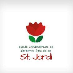 Feliç diada de sant Jordi 🌹📚 a tothom! Company Logo, Logos, Fiber, Happy Day, Logo