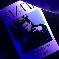 Mirada Zoolander por @PrincePelayo. La noche sigue... #ZoolanderBAZAAR #BlueSteel #EsZoolander2 @cirocvodka by harpersbazaares