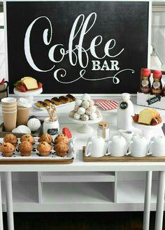 Kaffee Bar Hochzeit
