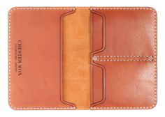 #116 Chestnut Passport Cover (Horween) - Chester Mox