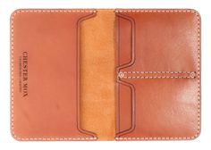 #116 Chestnut Passport Cover (Horween) - Chester Mox-SR