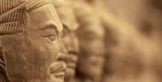 Los guerreros de terracota #China