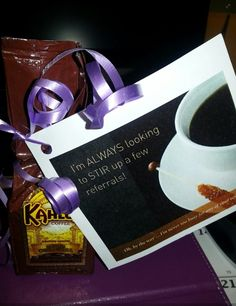 Want to Pop-By one of your favorite clients in the morning? Don't forget to bring this #gift along with you!