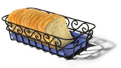 Spectrum 39110 Scroll Bread Basket, Black: Amazon.co.uk: Kitchen & Home
