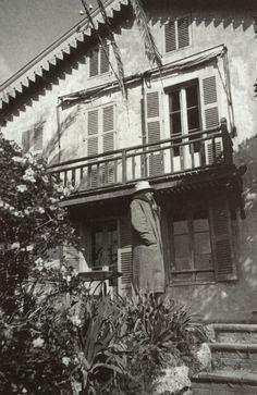 Henri Cartier-Bresson, Pierre Bonnard à son domicile, Le Cannet, France,1944.