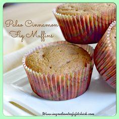 Paleo Cinnamon Fig Muffins via @ #coconutter