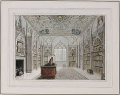 Library Strawberry Hill