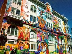 49 of San Francisco's Most Awesome Murals, Mapped
