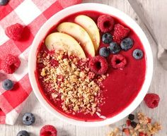 Granola, Açai Bowl, Bowls, Beignets, Caramel, Diet, Cooking, Breakfast, Desserts