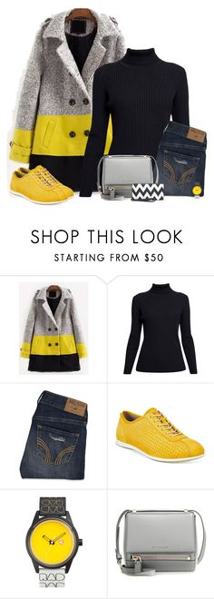 """Untitled #1009"" by polly302 ❤ liked on Polyvore featuring Rumour London, Hollister Co., ECCO, Harajuku Lovers, Givenchy and Rebecca & Rifka"