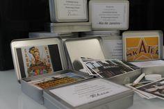 Typografische Postkarten des Verlags August Dreesbach