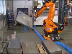 Automatic bending of sheet metal with a KUKA robot