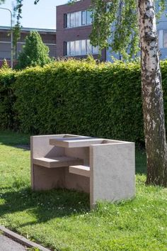 The tablebench TAFEL draws special interest with its sculptural, functional appeal. TAFEL is included in various museum collections. Outdoor Furniture Sets, Outdoor Decor, Museum Collection, Sculpture, Design, Chairs, Home Decor, Lifestyle, Decoration Home