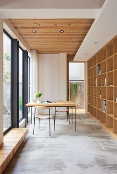 Taiwanese firm Soar Design Studio has refurbished a 1960s house in the city of Taichung, creating open and connected spaces.