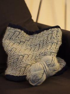 7b7778152a8 Tuto   le snood   tour de cou pour homme en tricot