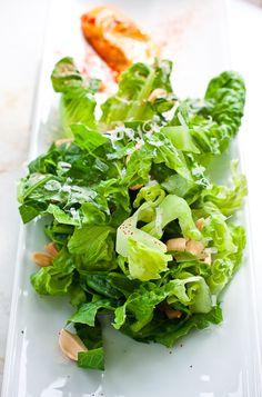smoky caesar salad w/ smoked paprika