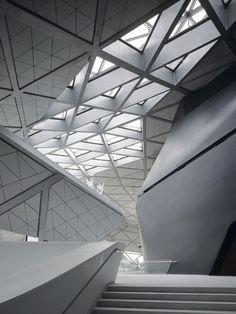 Zaha Hadid. Interesting use of shape.