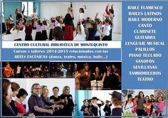 Cursos y talleres 2014-2015 relacionados con las ARTES ESCÉNICAS en @BibMontequinto #DosHermanas https://www.facebook.com/notes/biblioteca-pública-municipal-miguel-delibes-montequinto-dos-hermanas/centro-cultural-biblioteca-montequinto-cursos-y-talleres-2014-2015/810520872316034