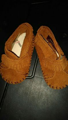 cheap for discount 47b48 bc408 Unisex Shoes · Minnetonka Moccasin Toddler Child Size 2.NEW  fashion   clothing  shoes  accessories