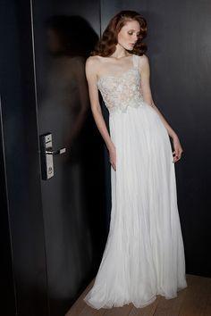 Mira Zwillinger Jade gown | onefabday.com