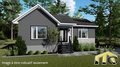St Jacques, One Story Homes, Centre, Outdoor Decor, House, Color, Home Decor, House Foundation, Open Concept Kitchen