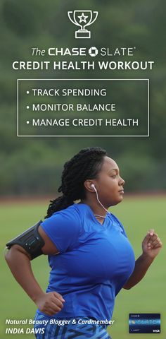 With the Chase Slate card, you can keep your credit healthy in just a few simple steps.